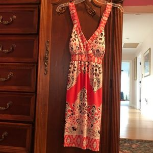 Great Summer dress from INC built in bra EC S